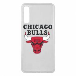 Чехол для Samsung A7 2018 Chicago Bulls Classic