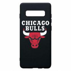 Чехол для Samsung S10+ Chicago Bulls Classic