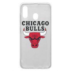 Чехол для Samsung A20 Chicago Bulls Classic