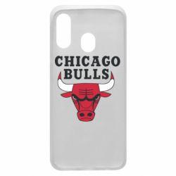 Чехол для Samsung A40 Chicago Bulls Classic
