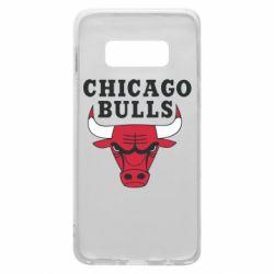 Чехол для Samsung S10e Chicago Bulls Classic