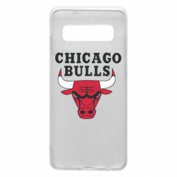 Чехол для Samsung S10 Chicago Bulls Classic