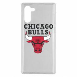 Чехол для Samsung Note 10 Chicago Bulls Classic