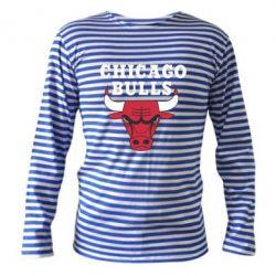 Тельняшка с длинным рукавом Chicago Bulls Classic - FatLine