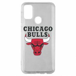 Чехол для Samsung M30s Chicago Bulls Classic