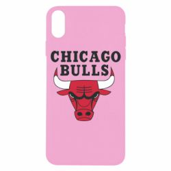 Чехол для iPhone X/Xs Chicago Bulls Classic