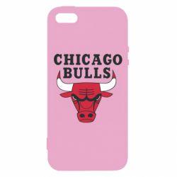 Чехол для iPhone5/5S/SE Chicago Bulls Classic