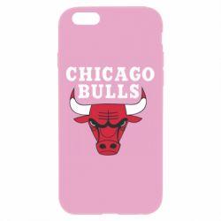 Чехол для iPhone 6 Plus/6S Plus Chicago Bulls Classic