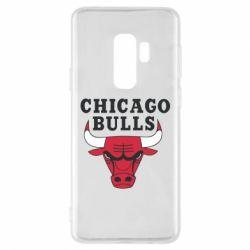 Чехол для Samsung S9+ Chicago Bulls Classic
