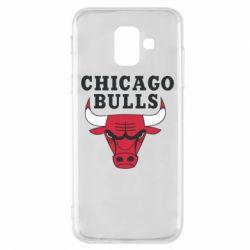 Чехол для Samsung A6 2018 Chicago Bulls Classic