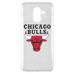 Чехол для Samsung A6+ 2018 Chicago Bulls Classic