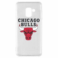 Чехол для Samsung A8 2018 Chicago Bulls Classic