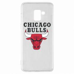 Чехол для Samsung A8+ 2018 Chicago Bulls Classic