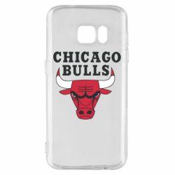 Чехол для Samsung S7 Chicago Bulls Classic