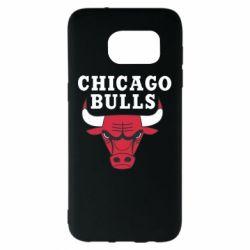 Чехол для Samsung S7 EDGE Chicago Bulls Classic
