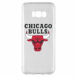 Чехол для Samsung S8+ Chicago Bulls Classic