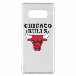 Чехол для Samsung Note 8 Chicago Bulls Classic