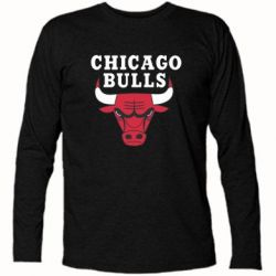 Футболка с длинным рукавом Chicago Bulls Classic - FatLine