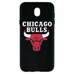 Чехол для Samsung J7 2017 Chicago Bulls Classic