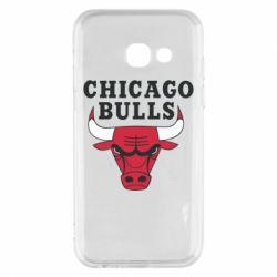 Чехол для Samsung A3 2017 Chicago Bulls Classic