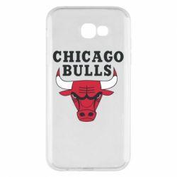 Чехол для Samsung A7 2017 Chicago Bulls Classic