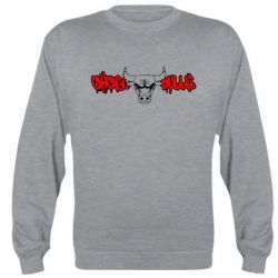Реглан (свитшот) Chicago Bulls Graffity - FatLine