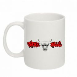 Кружка 320ml Chicago Bulls Graffity - FatLine