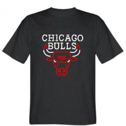 Мужская футболка Chicago Bulls Logo - FatLine