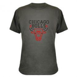 Камуфляжная футболка Chicago Bulls Logo - FatLine