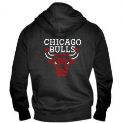 Мужская толстовка на молнии Chicago Bulls Logo - FatLine