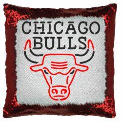 Подушка-хамелеон Chicago Bulls Logo