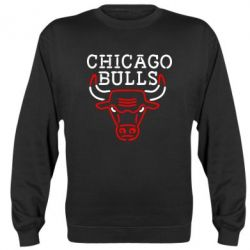 Реглан (свитшот) Chicago Bulls Logo - FatLine