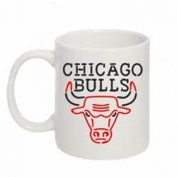 Кружка 320ml Chicago Bulls Logo - FatLine