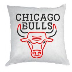 Подушка Chicago Bulls Logo
