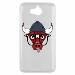 Чехол для Huawei Y5 2017 Chicago Bulls Swag - FatLine