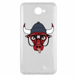 Чехол для Huawei Y7 2017 Chicago Bulls Swag - FatLine