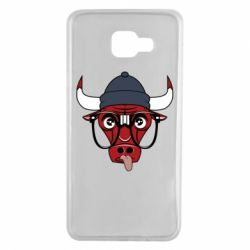 Чехол для Samsung A7 2016 Chicago Bulls Swag - FatLine