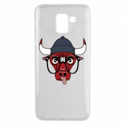 Чехол для Samsung J6 Chicago Bulls Swag - FatLine