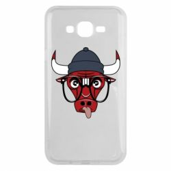 Чехол для Samsung J7 2015 Chicago Bulls Swag - FatLine