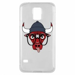 Чехол для Samsung S5 Chicago Bulls Swag - FatLine
