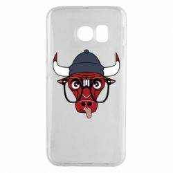 Чехол для Samsung S6 EDGE Chicago Bulls Swag - FatLine