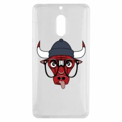 Чехол для Nokia 6 Chicago Bulls Swag - FatLine