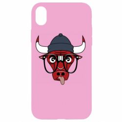 Чехол для iPhone XR Chicago Bulls Swag - FatLine