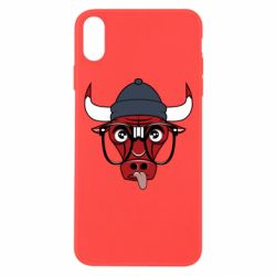 Чехол для iPhone Xs Max Chicago Bulls Swag - FatLine
