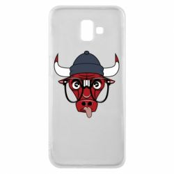 Чехол для Samsung J6 Plus 2018 Chicago Bulls Swag - FatLine