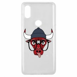Чехол для Xiaomi Mi Mix 3 Chicago Bulls Swag - FatLine