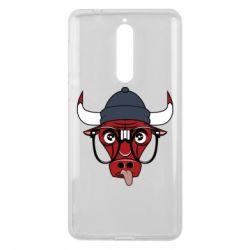 Чехол для Nokia 8 Chicago Bulls Swag - FatLine