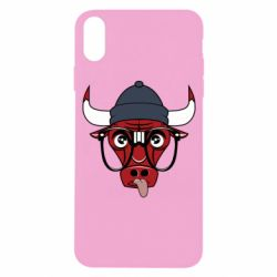 Чехол для iPhone X Chicago Bulls Swag - FatLine