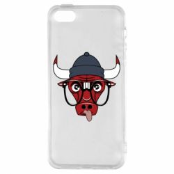 Чехол для iPhone5/5S/SE Chicago Bulls Swag - FatLine