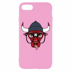 Чехол для iPhone 7 Chicago Bulls Swag - FatLine